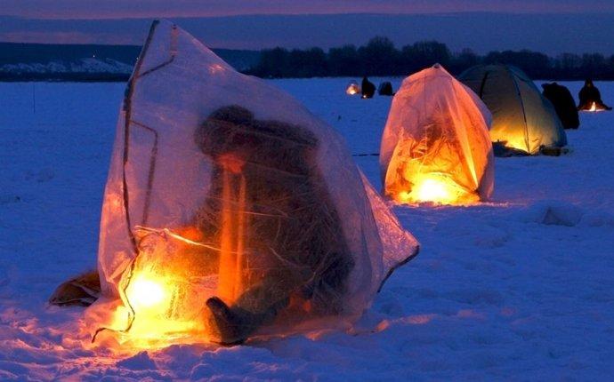 Фото зимней рыбалки