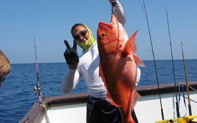 глубоководная рыбалка на