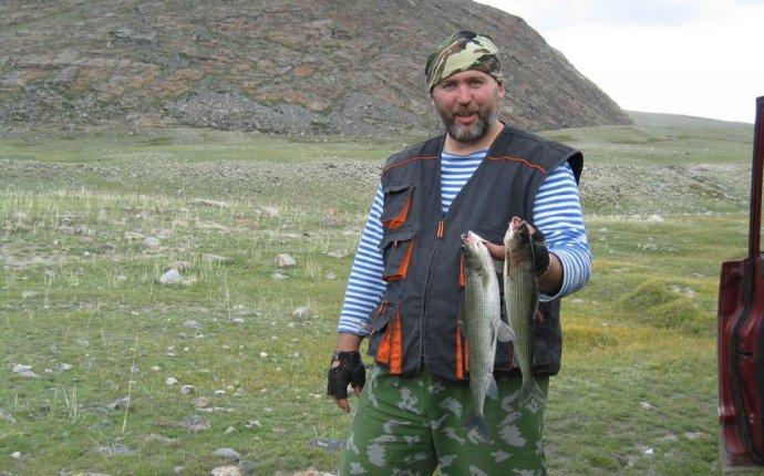 Рыбалка в Монголии на озерах
