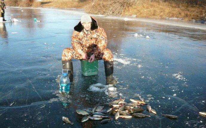 Зимняя рыбалка на Ахтубе